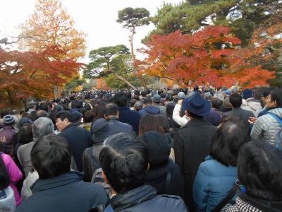 たまには「ベタ」な観光旅行1412 「皇居乾通り 一般公開」  ~東京~