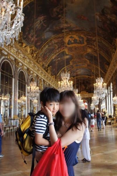 2012. 息子とパリ ベルサイユ宮殿に興味がなかった息子