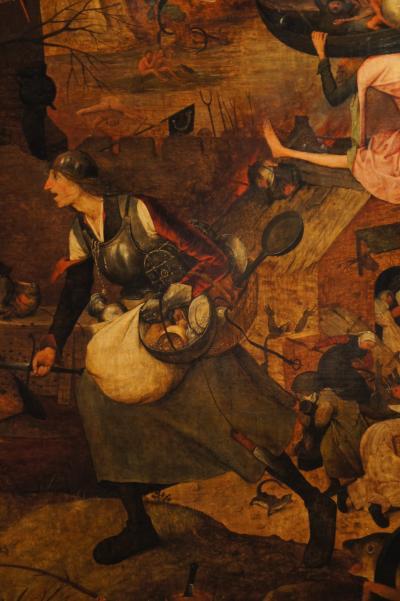 晩春のベルギー旅行(27)アントワープのマイヤー・ファン・デン・ベルグ美術館の館に驚嘆し、ブリューゲルの「悪女フリート」に魅入られる。