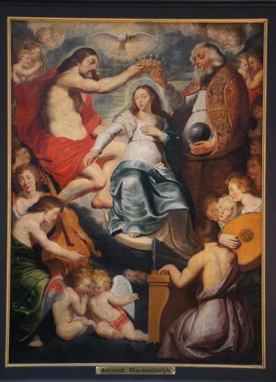 晩春のベルギー旅行(29)アントワープの聖パウロ教会でバロック彫刻と絵画に堪能し、ロコックスの家で館の建築と収蔵品の質の高さに驚嘆する。