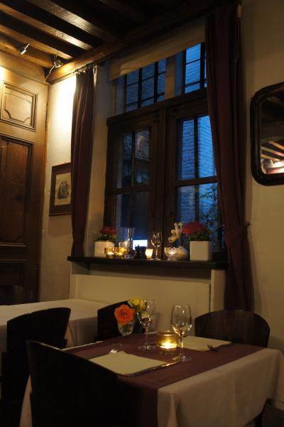 晩春のベルギー旅行(30)アントワープの最後の夜はブラーイケンスガングの小道のテ・ホフケでベルギー伝統料理を堪能し、オランダの旅に期待する。