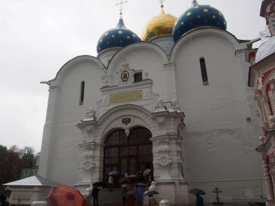 モスクワに最も近い黄金の環、セルギエフ・ポサード