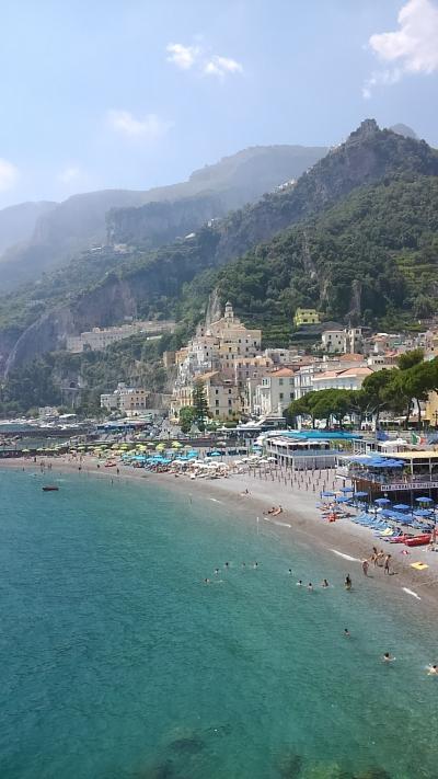南イタリア自由な旅⑧(アマルフィー編)アマルフィー・ラヴェーロへプチトリップ