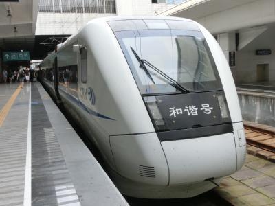 『食は広州にあり』って言うから、確かめに行ってきた・・・②香港から深圳を経由して、中国高速鉄道に乗って広州へ!
