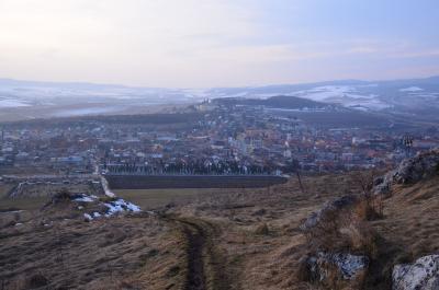 真冬のスピシュスキー城(ハンガリー&スロヴァキア旅行6)