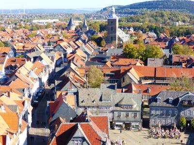 ドイツ ハルツ地方の街めぐり