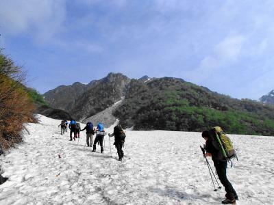 双六岳 残雪の北アルプスへテント泊登山