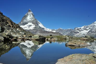 スイス花とハイキングの旅ローテンボーデンからリッフェルベルク