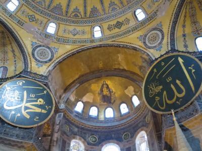 世界一周のたび2 2015年5~6月 イスタンブール(モザイク博物館、アヤソフィア、トプカピ宮殿、考古学博博物館、ガラタ橋)