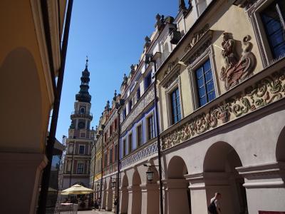 ザモシチの旧市街(ポーランド) 2015・7・3