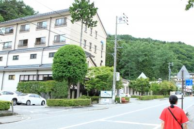 初早太郎温泉の川を中心とした遊歩道は最高♪ ホテルの「夏のビール祭り」も楽しい♪ 駒ケ根をゆっくり回った旅