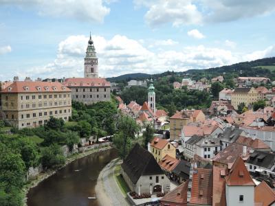 10日間のたっぷり中欧5か国周遊の旅(9) チェスキー・クロムロフ