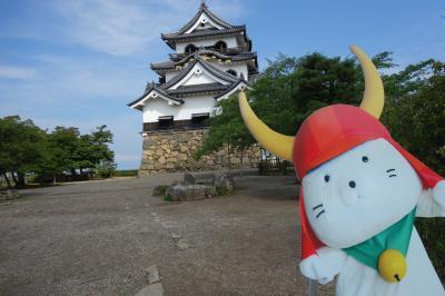 梅雨の合間の彦根城と、アイラブ仏像めぐり 渡岸寺、 己高閣・世代閣
