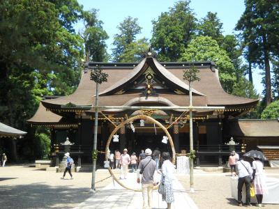 土日祝日に運行されるバスを使って香取神宮参拝