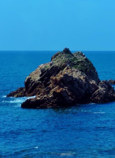 新潟⇒鶴岡 羽越本線:特急いなほ5号で ☆粟島・日本海を左側に