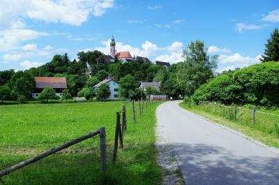 ミュンヘン郊外のアンデックス修道院