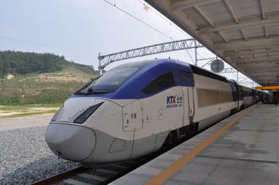 2015年7月韓国鉄道旅行5(KTX号で浦項へ)