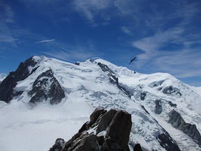 ヨーロッパアルプスの3大名峰(の展望台)を制覇しよう (4)モンブラン