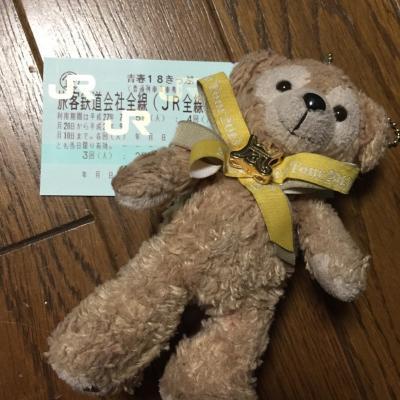 2015年、青春18切符の旅♪鮎を食べに行く!