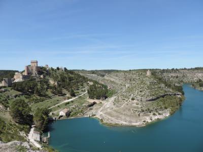 アラルコン_Alarcon 要塞の古城に泊まる!「中世にタイムスリップ」としか表現し得ない村