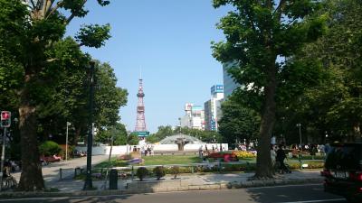 自転車で巡る札幌市内中心部。目的地は札幌ドーム!