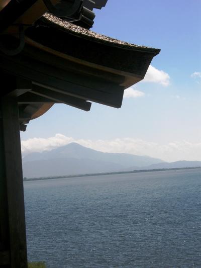 花の伊吹山登山と琵琶湖周辺の旅・・・⑤三日目・北琵琶湖に浮かぶ神秘の島・竹生島へ