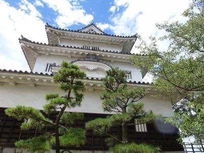 丸亀城と高松城へ