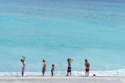 2015年7月 最高の海と空があるよ!いよいよ夏本番・新島の夏