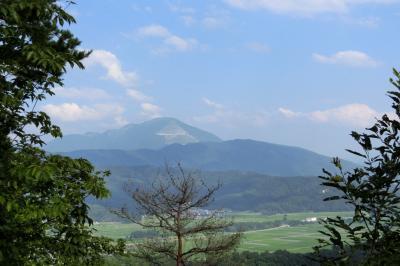 同じ山でも大違い。