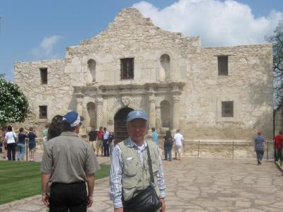 アメリカ大陸横断バスの旅(11) アラモ砦(テキサス州)と映画「THE ALAMO」の主題歌と歌詞