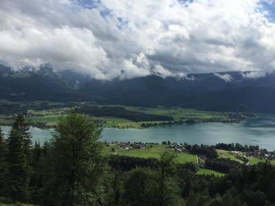 ハルシュタット湖とシャーフベルク山頂(2015ドロミテ・チロル③)