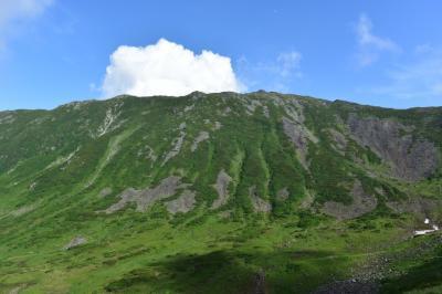 日高山脈最高峰の幌尻岳 お花畑の額平川コース-2 (69)