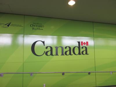 初カナダ-オタワ訪問