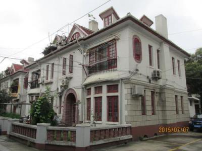 上海の共同租界(東)・楊樹浦路・十七綿工房住宅
