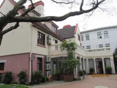 上海の共同租界(東)の龍江路・歴史建築