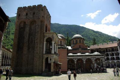 街中に溢れる遺跡と修道院とキリル文字の国ブルガリア8(リラの僧院)