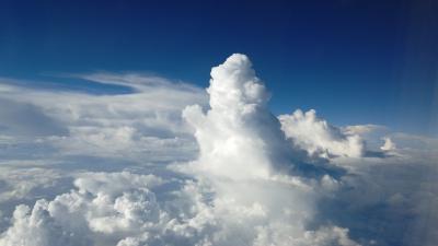 ただ今、JALで移動中(*^-^*) 第7弾 熊本>>>>東京に向けて雲の上~!!