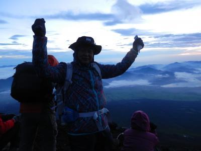 三度目の富士登山