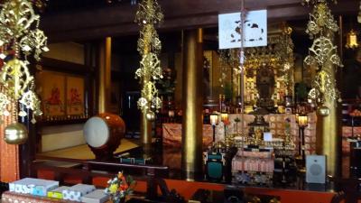西国二十二番札所総持寺 久しぶりに、娘と二人でお参りしました。