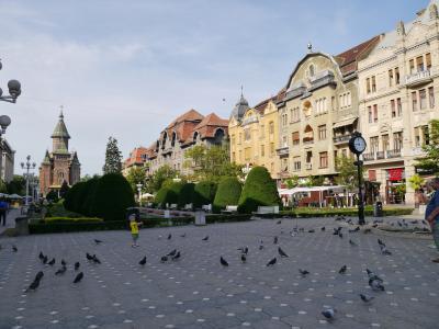 東ヨーロッパ、小さい街を行く-⑨-ルーマニア