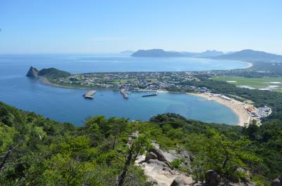 絶景♪晴天の糸島半島 :立石山 in 福岡