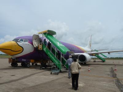 ナコン・パノム空港へ
