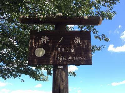 棒の折山 山登り(*^o^*)