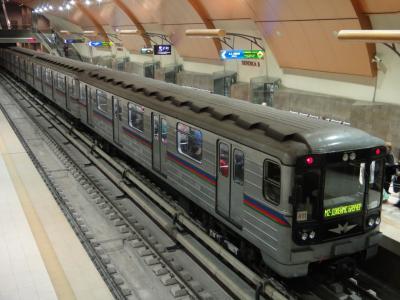 ブルガリア10(ソフィア鉄道編:地下鉄・トロリーバス・トラム)