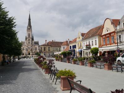 東ヨーロッパ、小さい街を行く-⑬-ハンガリー