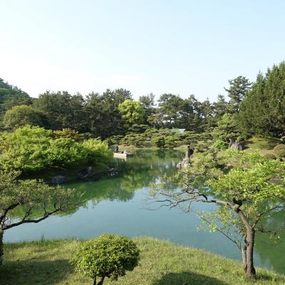 母とのんびり香川旅行 栗林公園