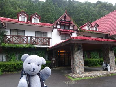 06森の国ホテルを探検する~到着と部屋編~(高知・滑床渓谷の旅その6)