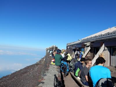 日本最高峰 世界遺産 ~富士山(3776m)~ 制覇!!