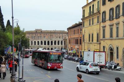 15歳の姪っ子と女二人でローマ・交通