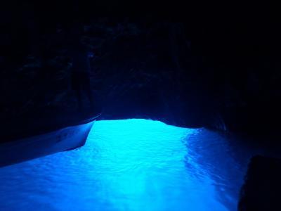 夏休み、クロアチア旅行2 <青の洞窟編>